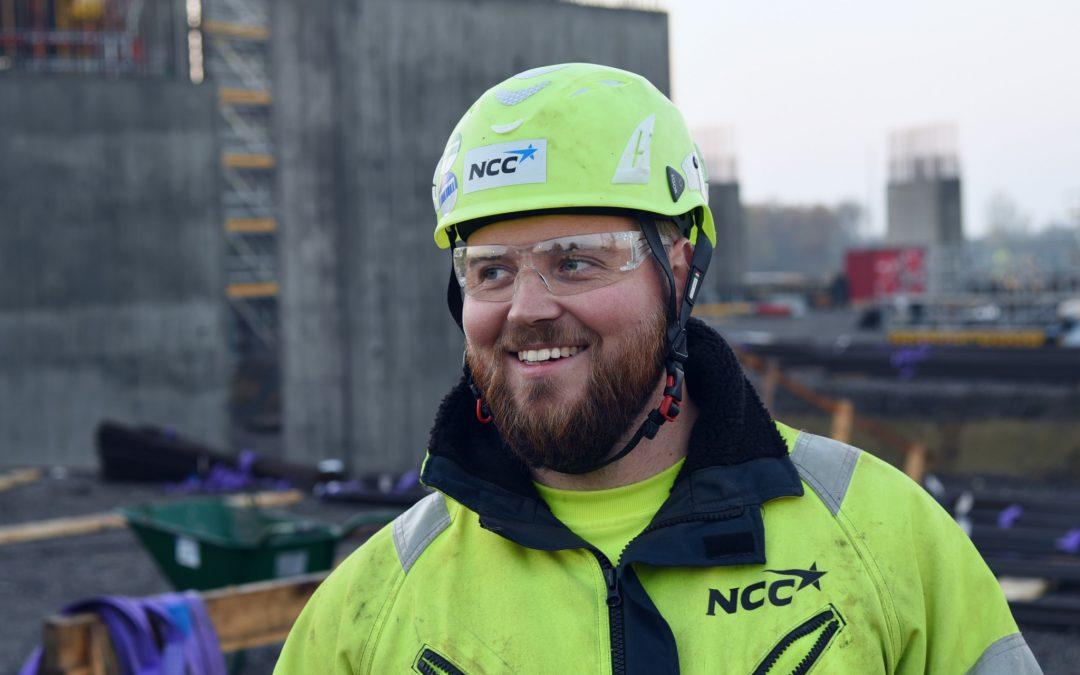 1732 ton armering stabiliserar Helsingsborgs nya vattentorn