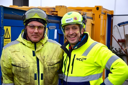 Christian Mårtensson och Jean Paul Link