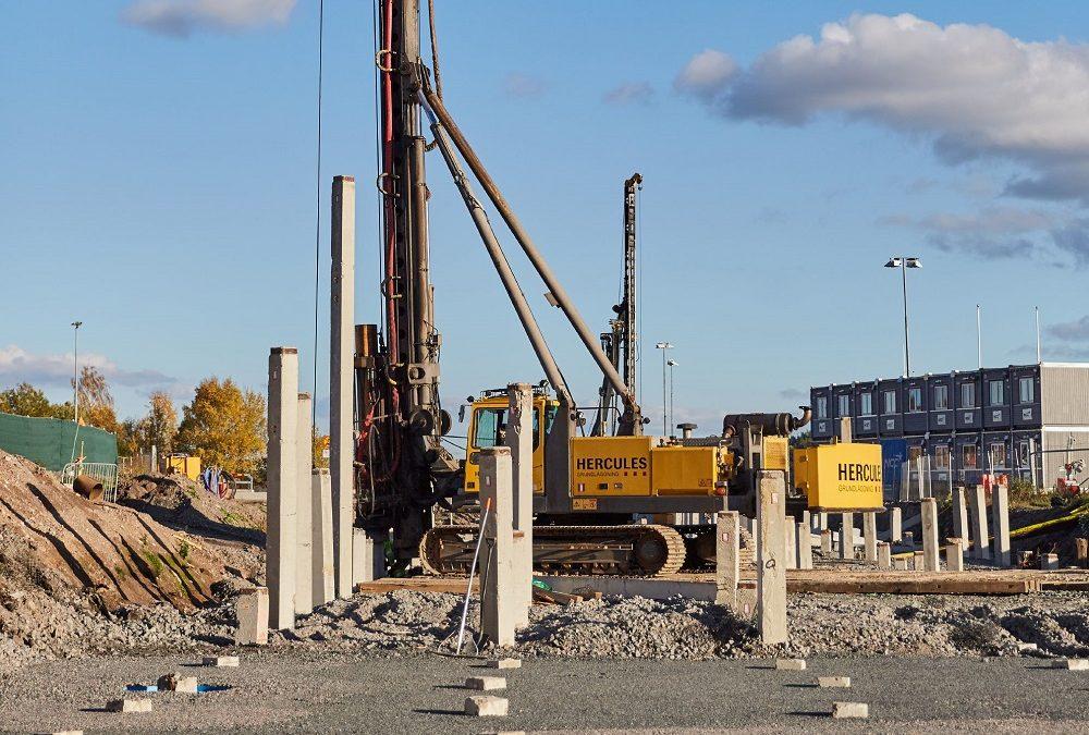 Hercules betongpålar miljödeklarerade
