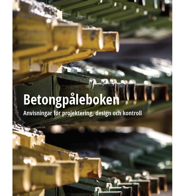 Nu är den här – andra upplagan av Betongpåleboken.