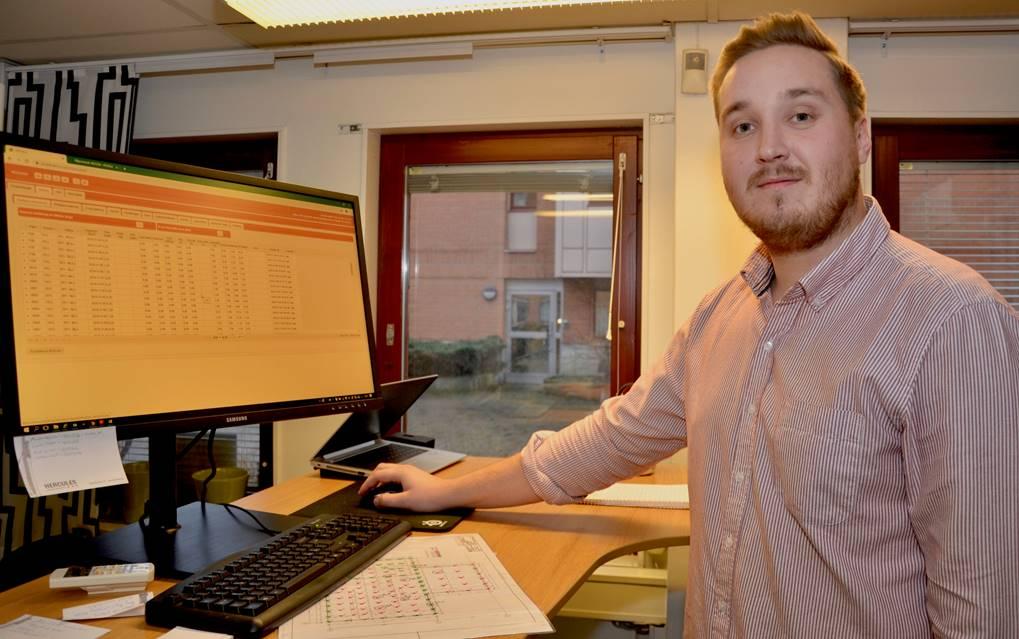 Arbetsledare Lars Dahlman, Hercules, Linköping